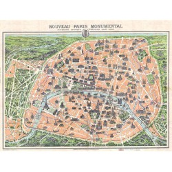 Puzzle Plan de Paris 1910