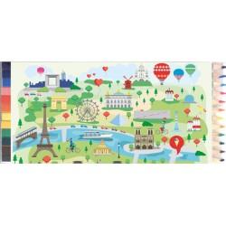 Crayons de couleur Paris Illustré