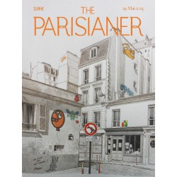 Illustration The Parisianer street art MIGNON