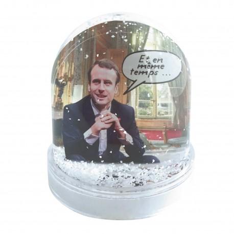 Boule à neige Macron Elysée