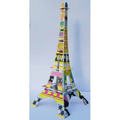 Tour Eiffel à monter Pop'art