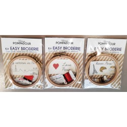 Kit Easy Broderie Décor Paris
